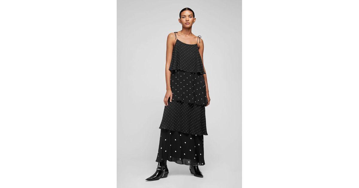 e15f08e5b0867 Anine Bing Daisy Maxi Dress in Black - Save 52% - Lyst