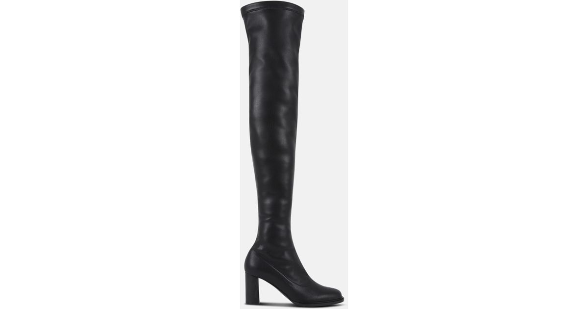 7e18d91afd3 Lyst - Stella McCartney Black Over-the-knee-boots in Black