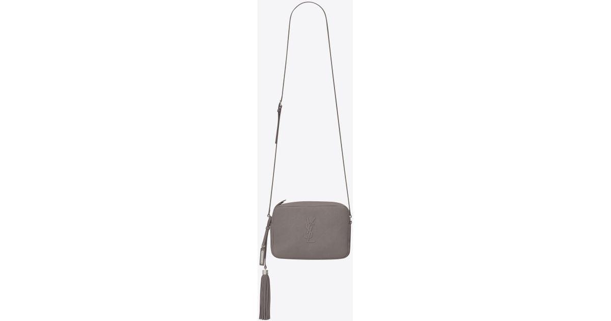 c4eaff2a45 Lyst - Saint Laurent Lou Camera Bag