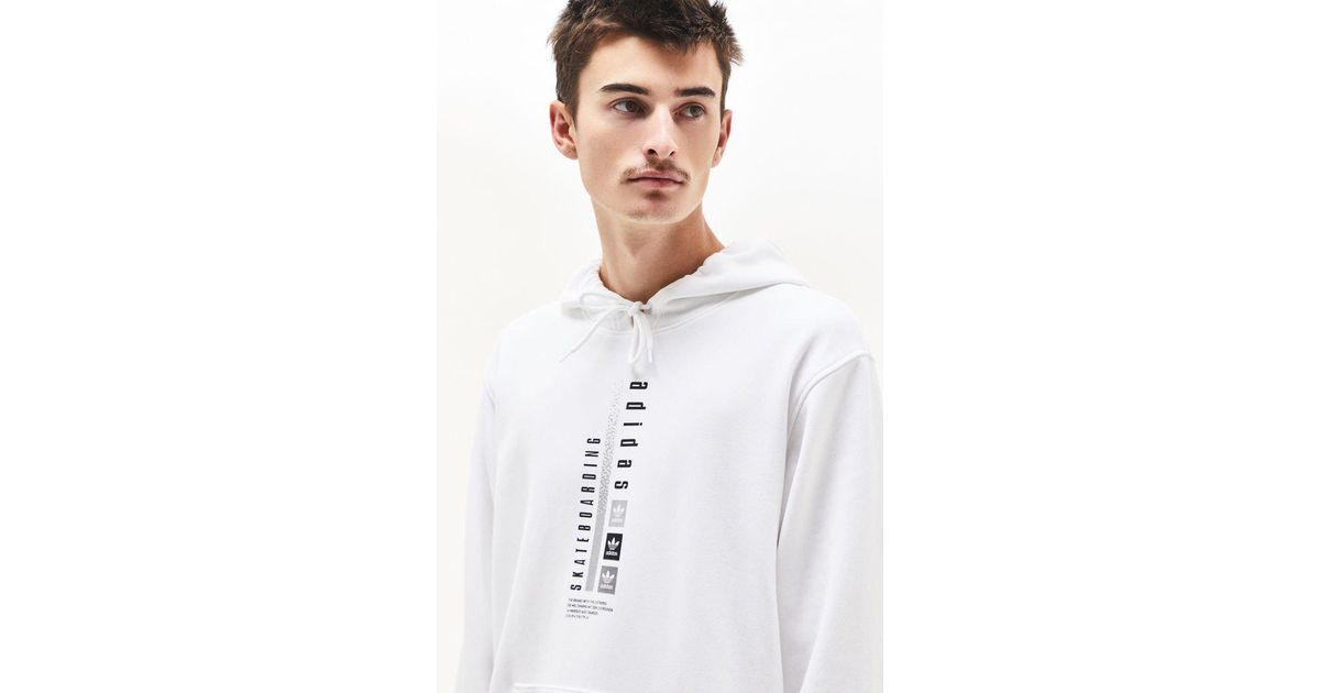 Men Hd For Midvert Lyst White In Pullover Adidas Hoodie fR8v8q