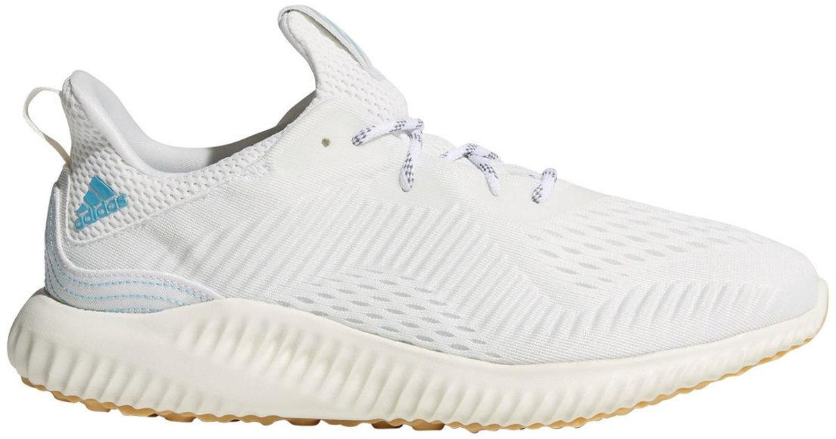 24abfaf5a1f3e3 Lyst - adidas Alphabounce Parley Running Shoes in White for Men