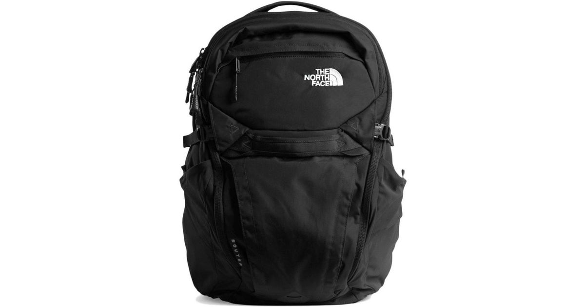 3a7ed3347 The North Face - Black Router Backpack – 40 L for Men - Lyst