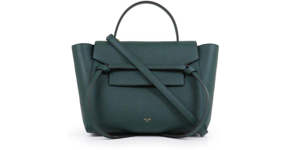 fca163f9e1 Lyst - Céline Mini Belt Bag Amazon in Black
