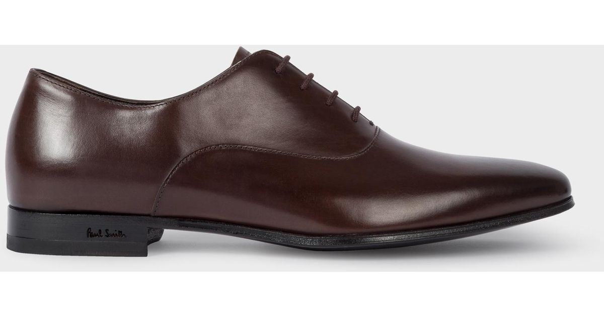 Chaussures Smith En Lyst Foncé 'fleming' Oxford Marron Cuir Paul y6vYbIgf7