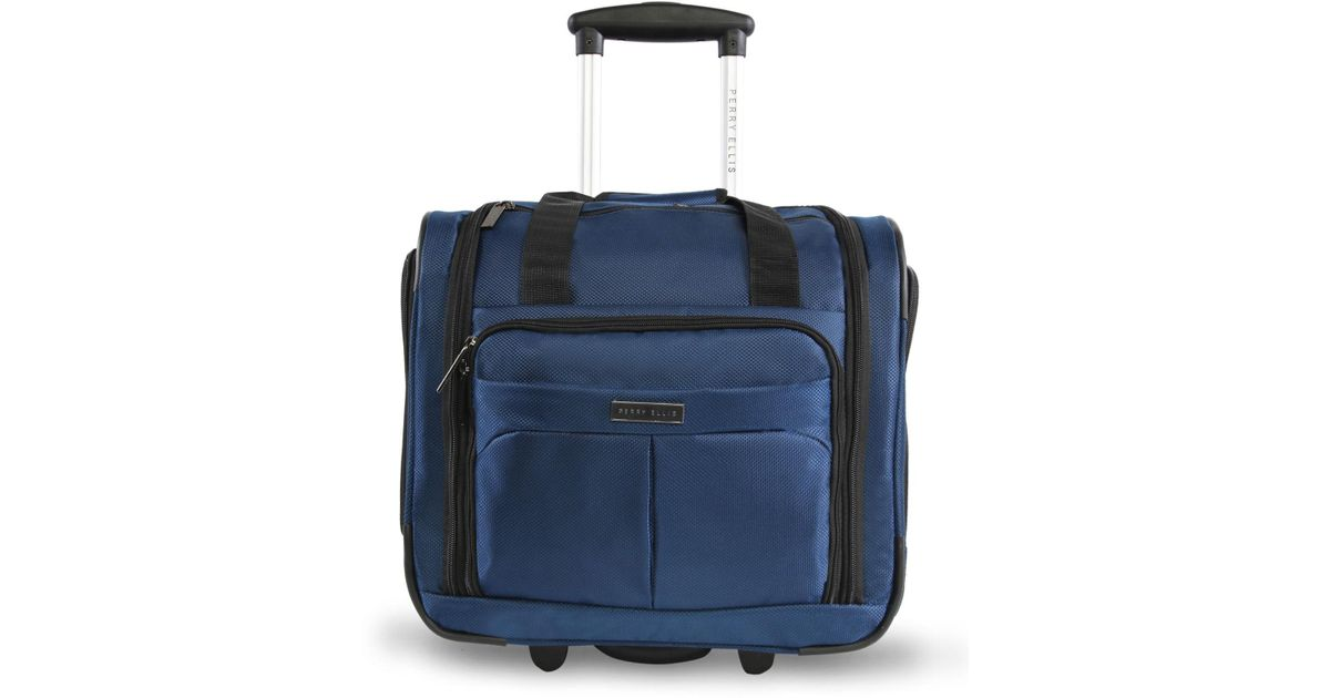 c55237a2a089 Lyst - Perry Ellis Carry-on Under The Seat Luggage in Blue for Men