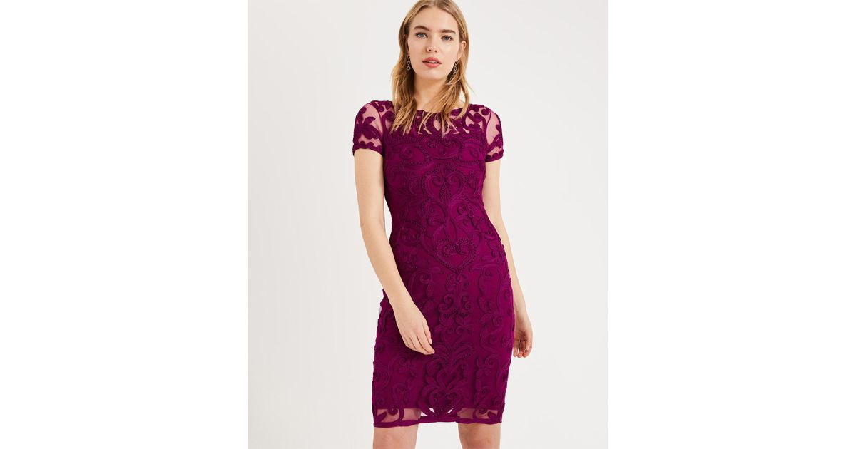 8abd1c3e5a7 Phase Eight Sheena Lace Evening Dress in Purple - Save 20% - Lyst