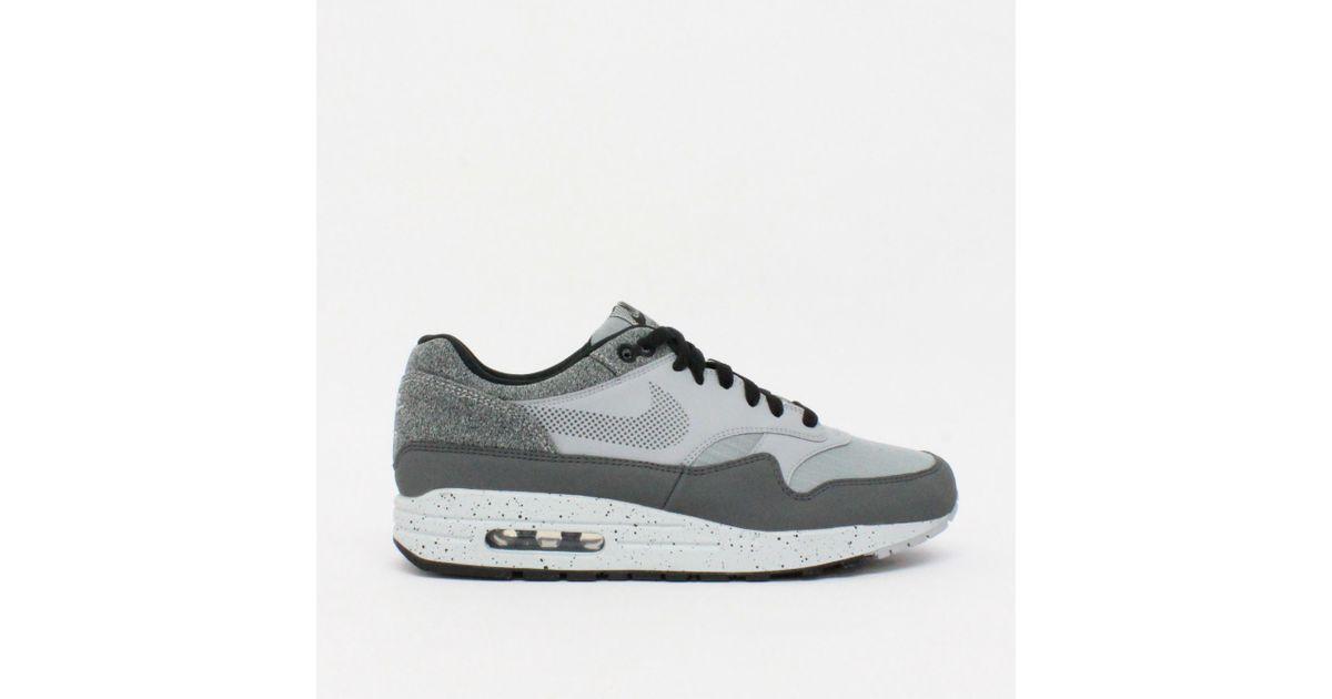 bdb7f56b5ca Lyst - Nike Trainers Nike Air Max 1 Premium Se Wolf Grey Ao1021 002 in Gray  for Men