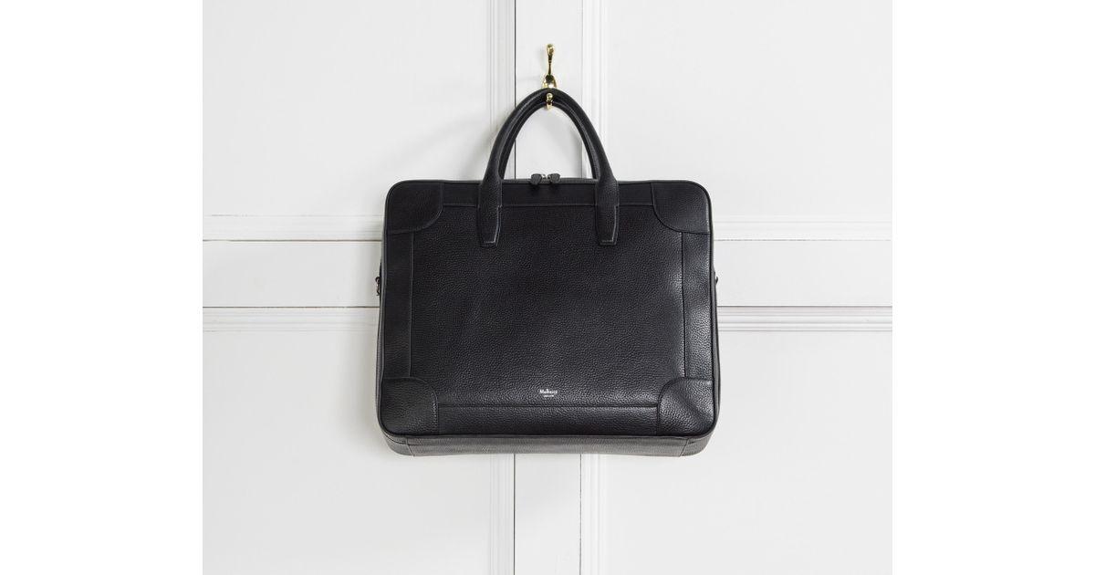 e303d32b175d Lyst - Mulberry  belgrave  24 Hour Bag Black in Black for Men