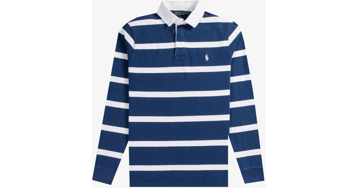 90534004e966c Blue And White Hooped Rugby Shirts - Rugs Ideas