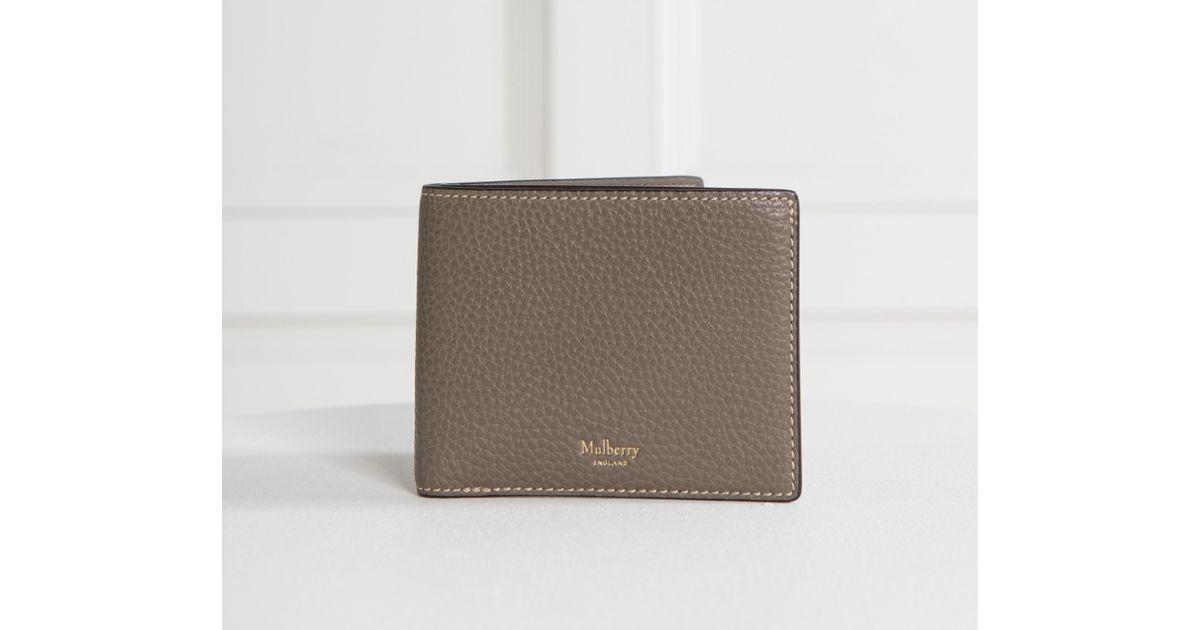 461bdcca82 ... scotchgrain shoulder bag genuine c61d1 ceafe amazon lyst mulberry  grained leather 8 card wallet clay for men ad0e7 7d827 ...