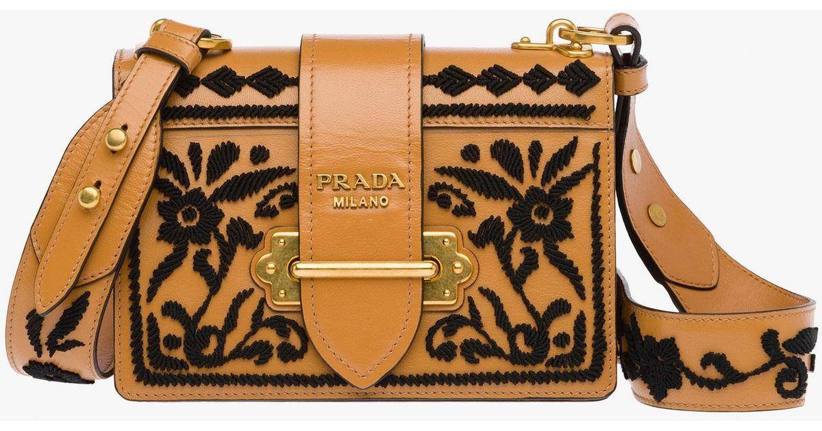 1b9c9d458521 Prada Cahier Bag - Lyst