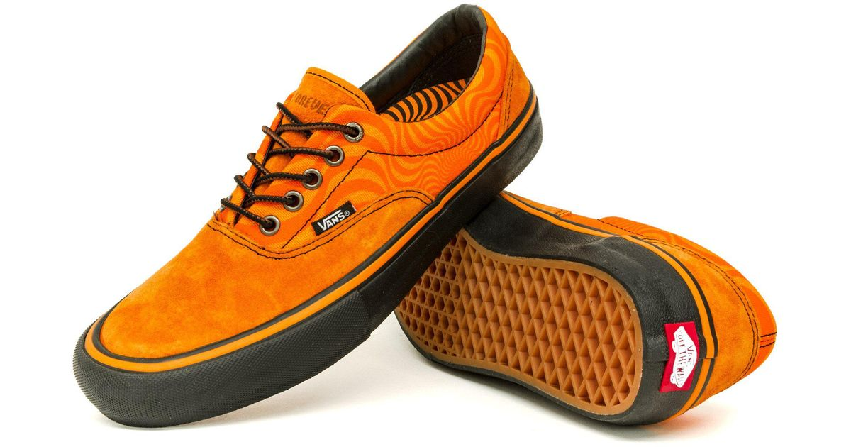 c50a8129794f ... promo code ... lyst vans x spitfire era pro shoes in orange for men   cheap for discount Mens Skate ...