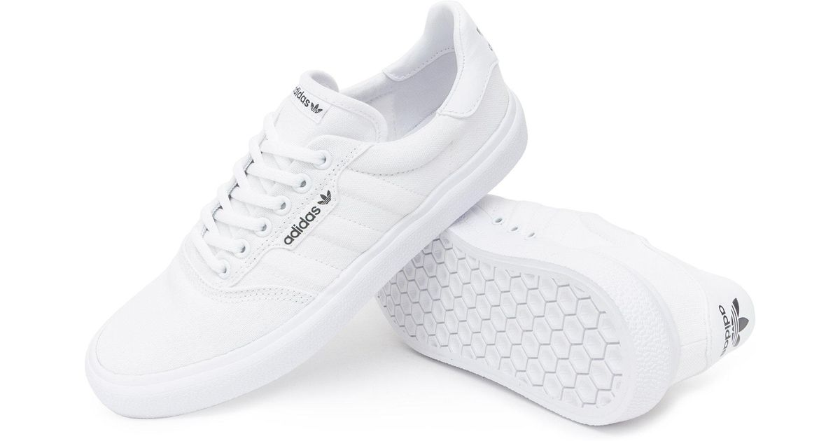 Lyst - adidas 3mc Vulc Shoes in White for Men c8a15bb8d103e