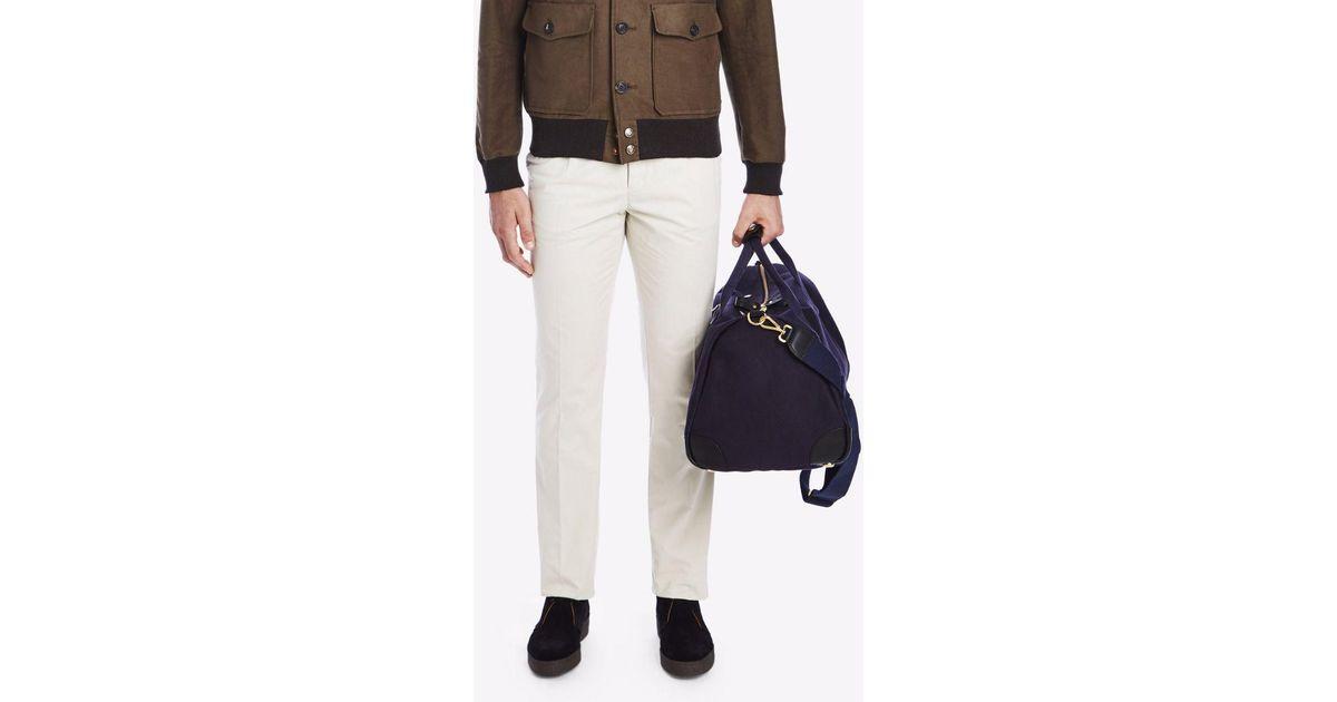 1c86de2f724a Lyst - Private White V.c. Cotton Canvas Commuter Overnight Bag in Blue for  Men