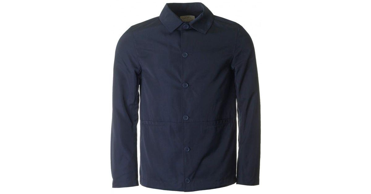 73cb076bdda Kestin Hare York Trucker Jacket in Blue for Men - Lyst