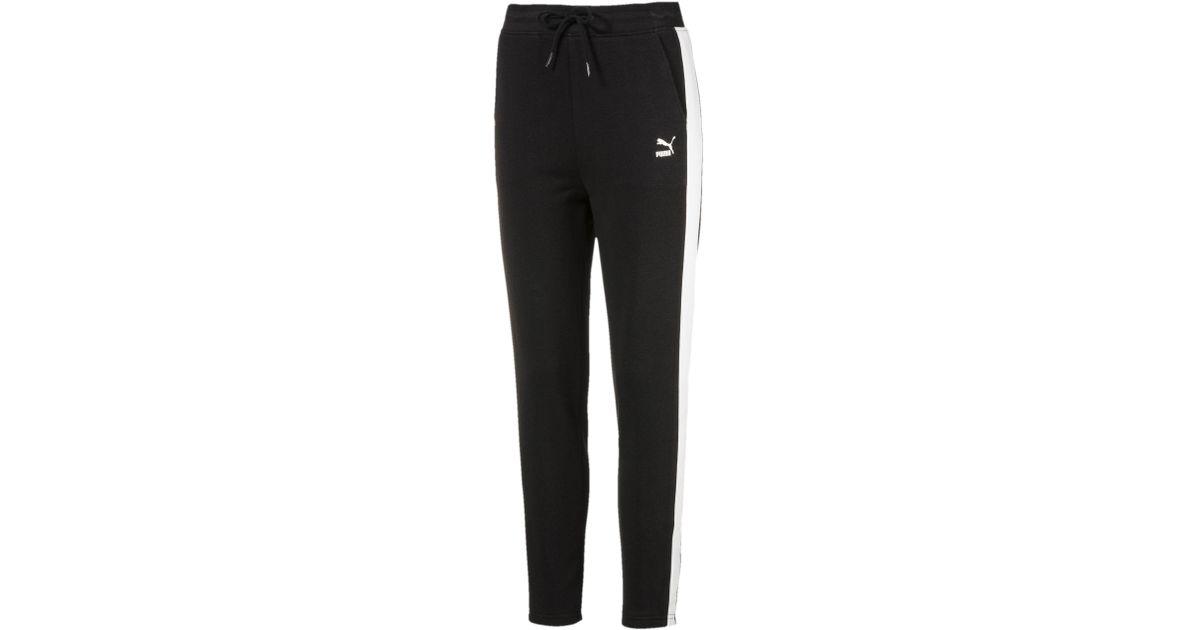 5509bbc12096 Lyst - PUMA Classics Logo Women s Track Pant in Black