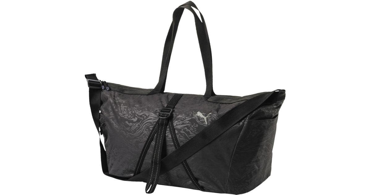 Lyst - PUMA Active Training Workout Bag in Black 7e0783d951e29