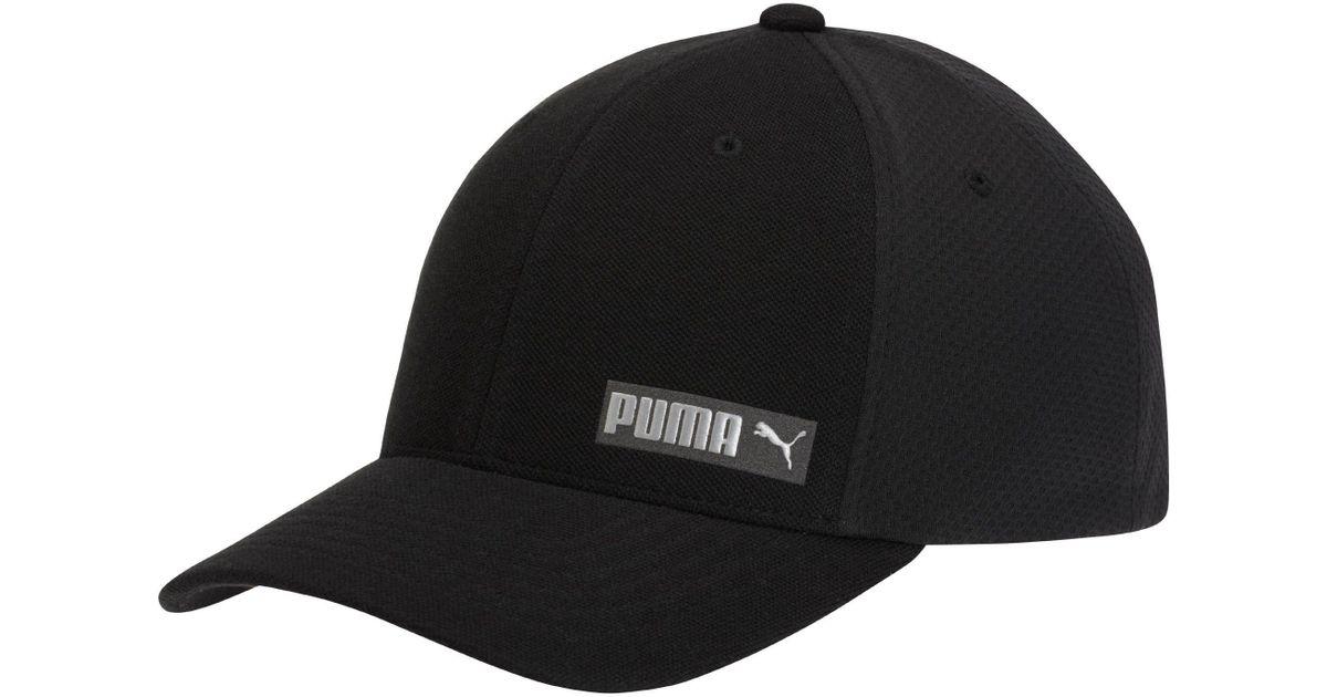 6bef278528d01 ... australia lyst puma performance body flexfit hat in black for men 102ef  675d4