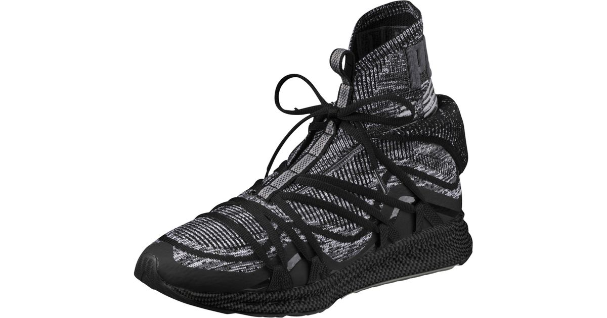 dc19376cd8f1 Lyst - PUMA Ignite Evoknit Fold Men s Sneakers in Black for Men