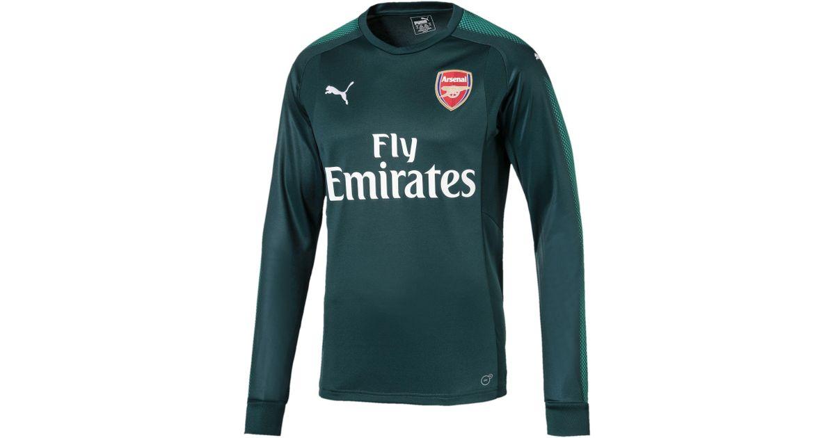 493dccd7613 PUMA Arsenal Long Sleeve Goalkeeper Jersey for Men - Lyst