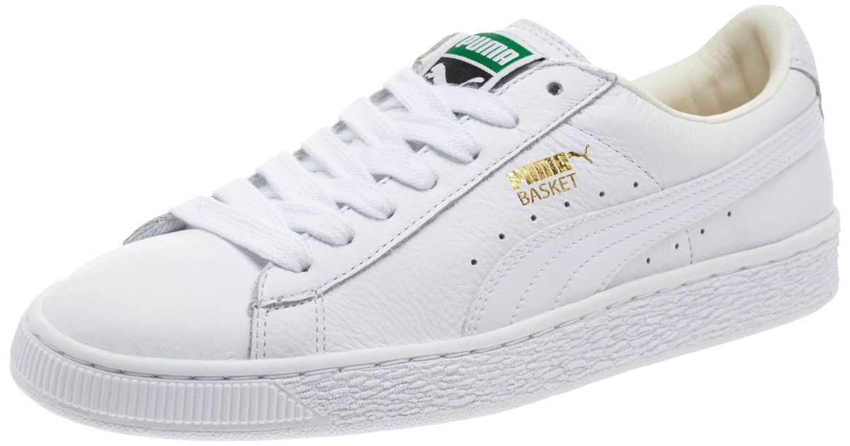 b912c30d64b3 Lyst - PUMA Basket Classic Lifestyle Women s Sneakers in White