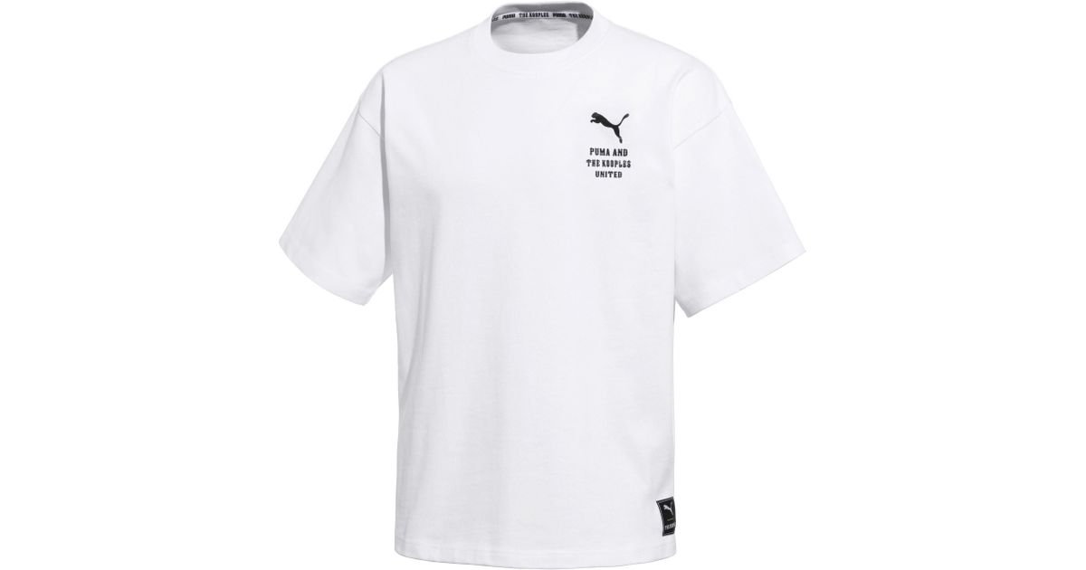 huge discount 4cfb8 db2de PUMA - White X The Kooples Men's Tee for Men - Lyst