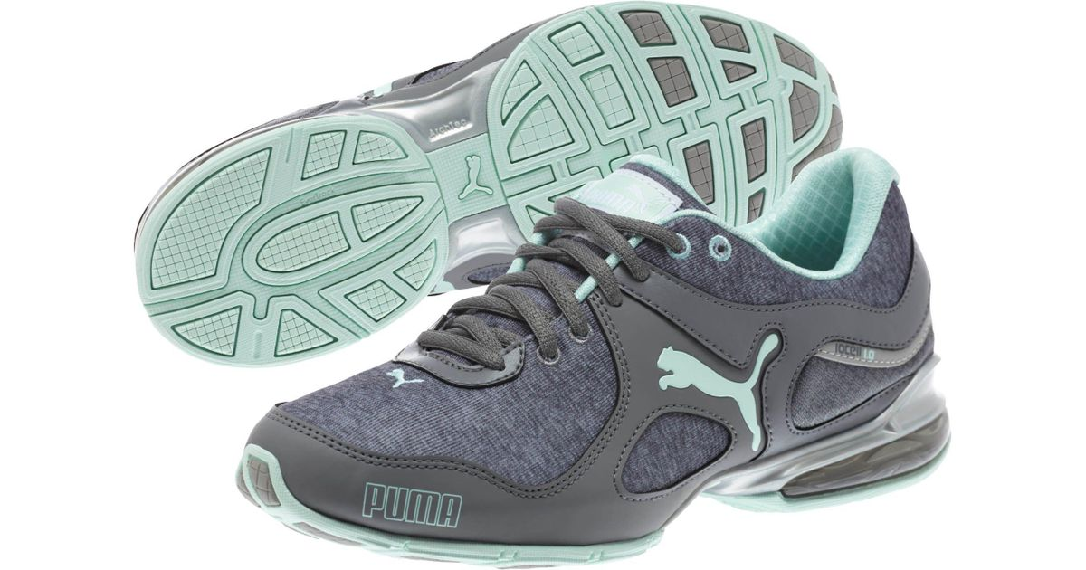 4e650bf978dd86 Lyst - Puma Cell Riaze Heather Women s Running Shoe in Gray
