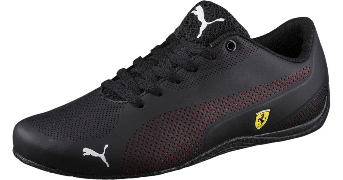 3aebe27abbb25e ... cheapest lyst puma ferrari drift cat 5 ultra sneakers in black for men  0cead dacf9