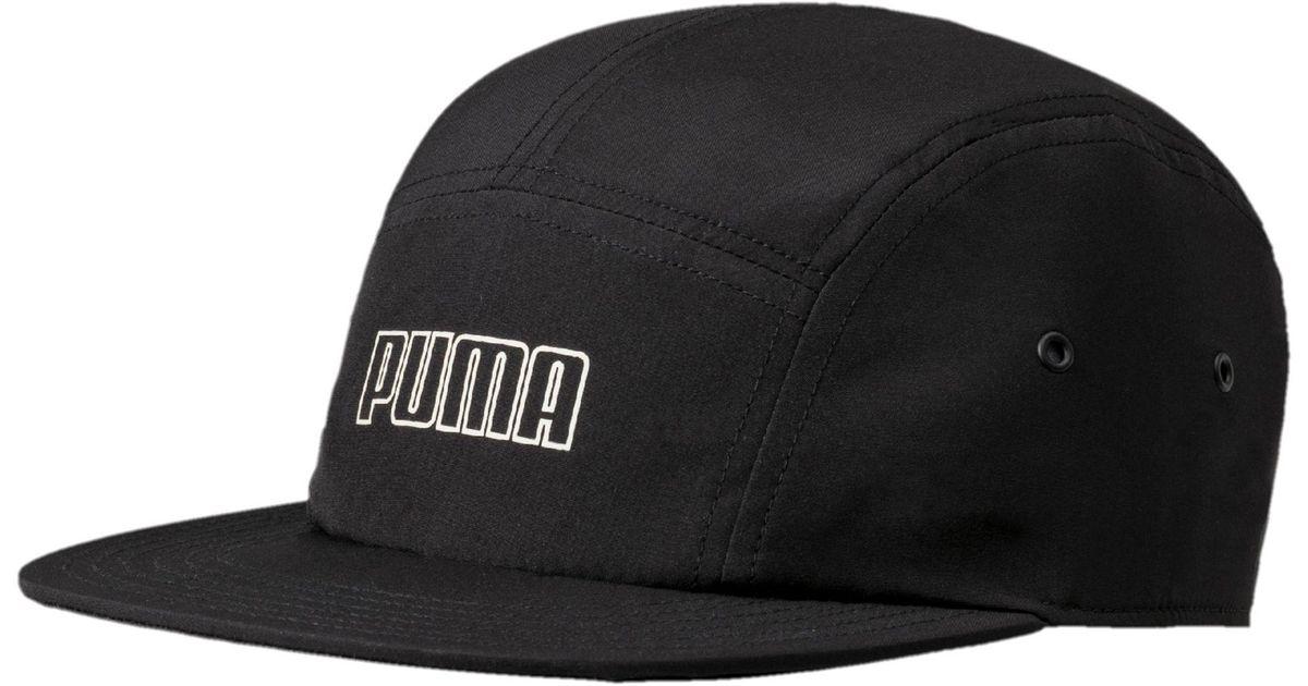 111013374cc Lyst - PUMA Archive 5-panel Hat in Black for Men