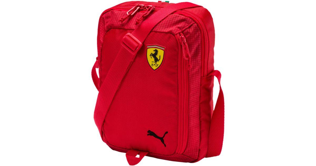 d6027b8640 PUMA Ferrari Fanwear Portable in Red for Men - Lyst