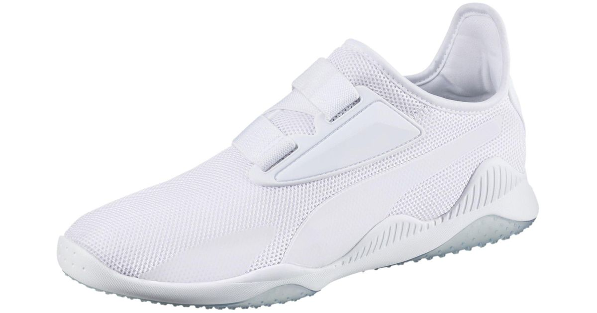 7c9f513facd Lyst - PUMA Mostro Mesh Sneakers in White for Men