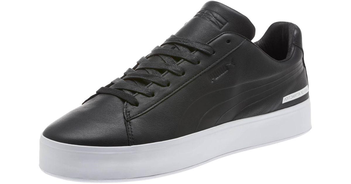 621d77f040d124 Lyst - PUMA X Black Scale Court Platform Men s Sneakers in Black for Men