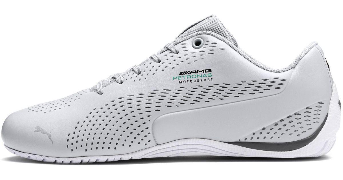 Mercedes Drift White Sneaker Puma 5 In Petronas Ultra Ii Amg