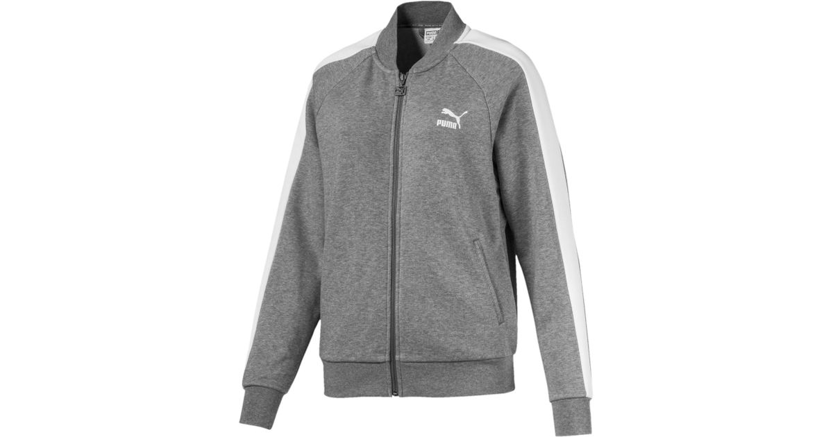 e62052d799a0 Lyst - PUMA T7 Track Jacket in Gray