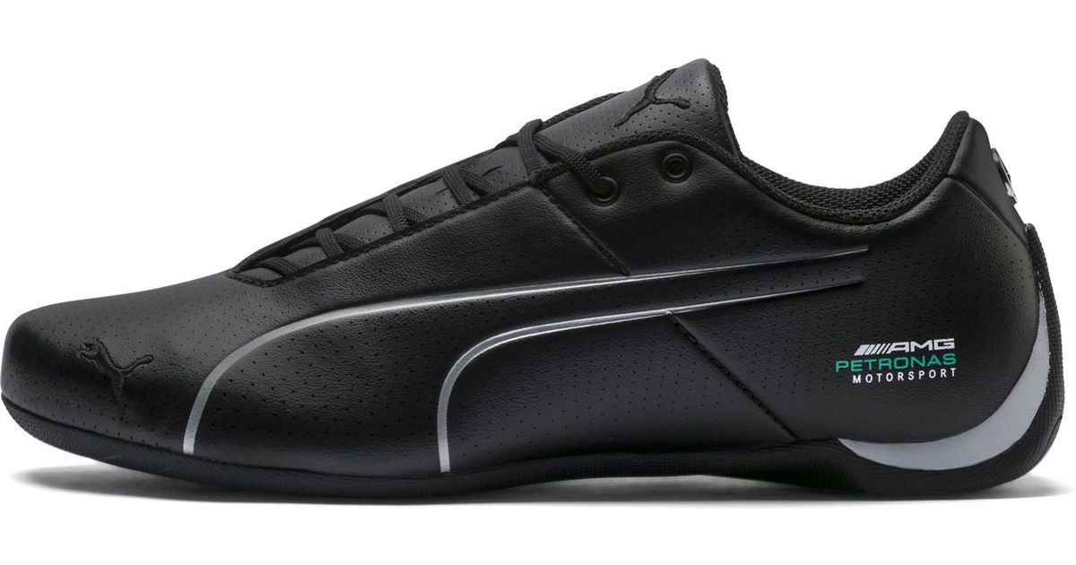 Lyst - PUMA Mercedes Amg Petronas Future Cat Ultra Sneakers in Black d7eb6b0b2