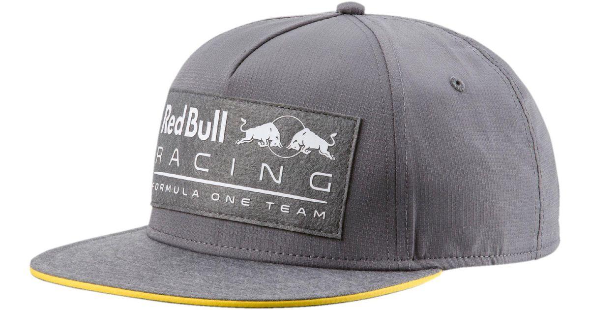 c0073be3ae3 ... switzerland lyst puma red bull racing lifestyle flatbrim hat in gray  for men ff646 ffa45