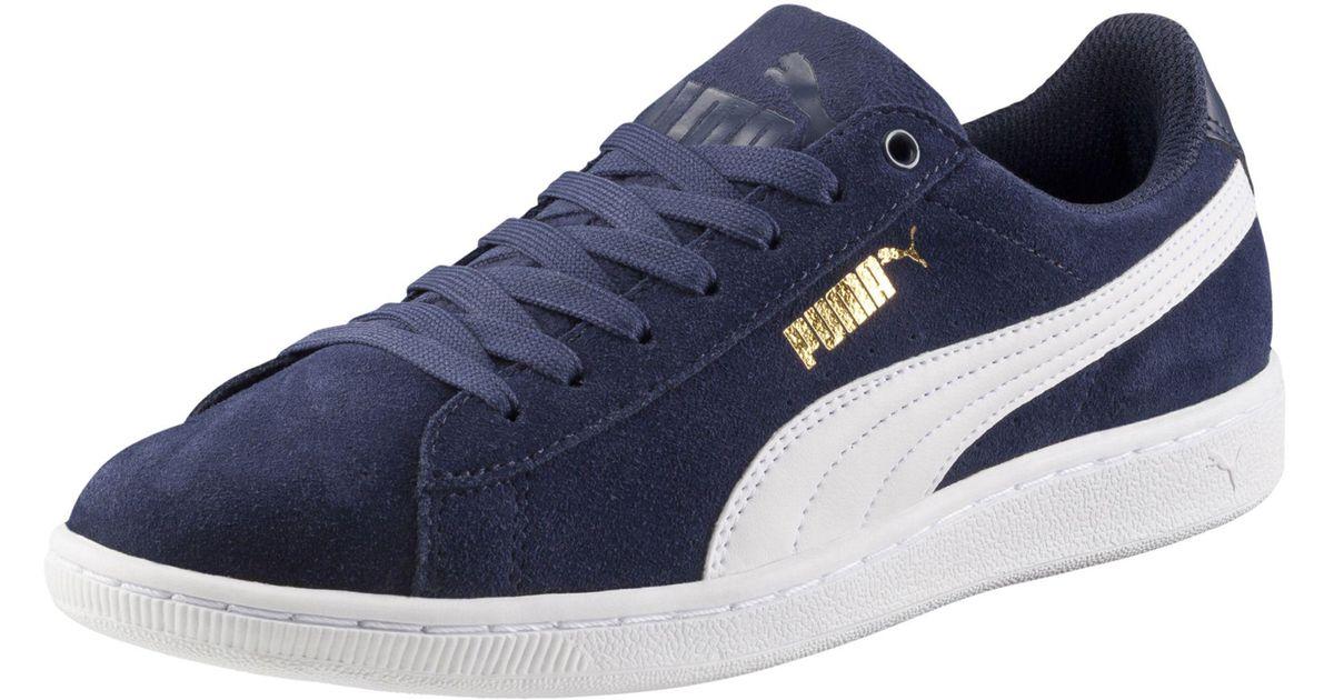 a2a1cf9d581b Lyst - PUMA Vikky Softfoam Women s Sneakers