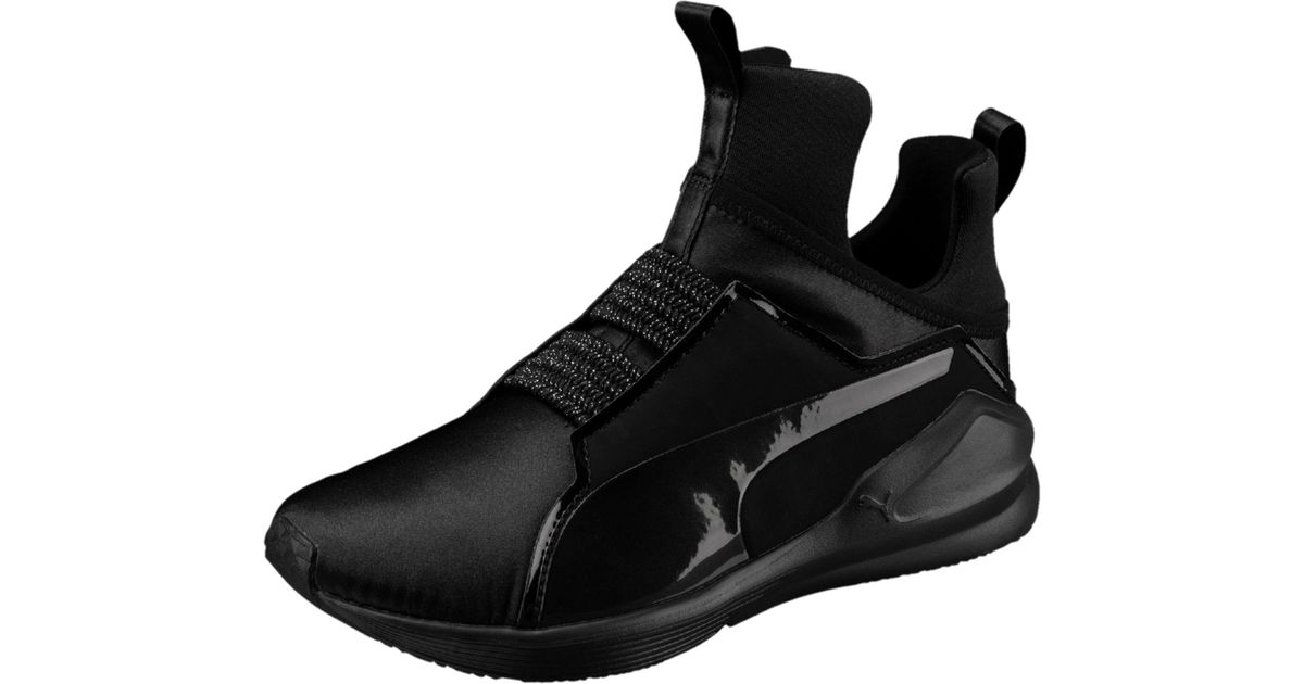 Lyst - PUMA Fierce Satin Ep Women s Training Shoes in Black b7148886f