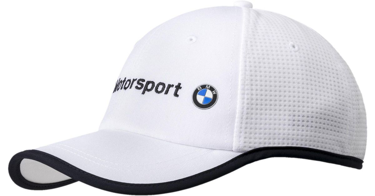 ... promo code for lyst puma bmw motorsport hat in white for men 9c969 42e84 1a0359cf5ea1