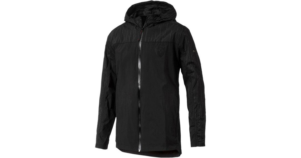1005929e8581 Lyst - PUMA Ferrari Nightcat Men s Jacket in Black for Men