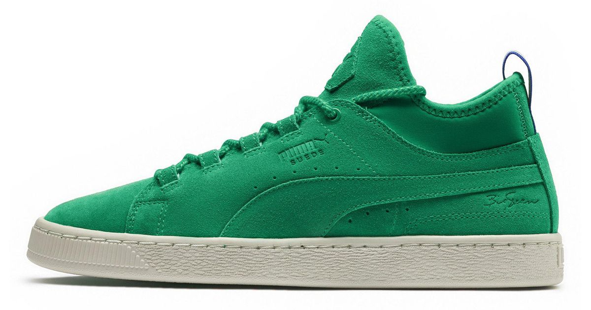 3c2e72142bd Lyst - PUMA Suede Mid Big Sean Sneaker in Green for Men - Save 34%