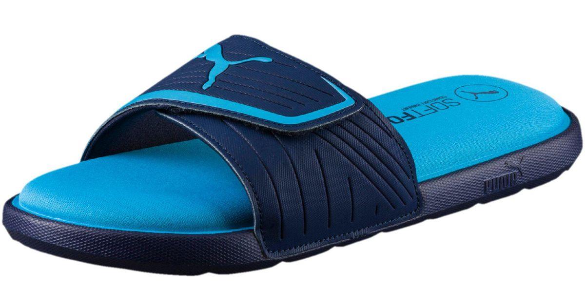 9fc57acab77b Lyst - PUMA Starcat Sfoam Men s Sandals in Blue for Men