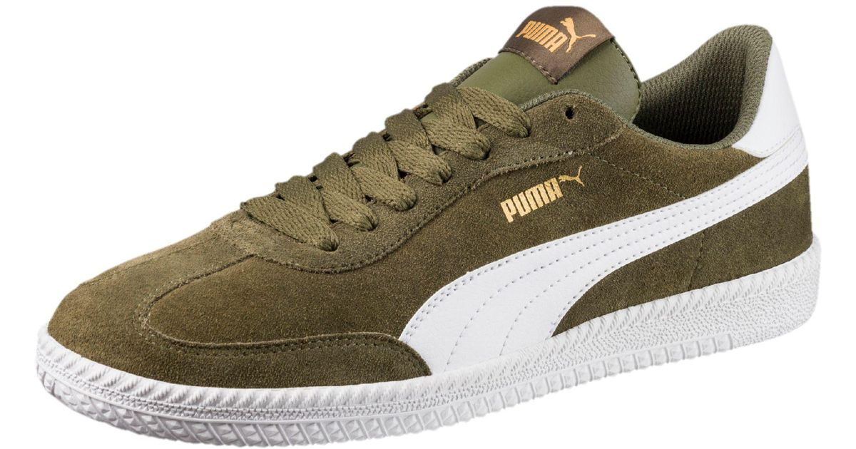d6011b3387f Lyst - PUMA Astro Cup Suede Sneakers in Green for Men