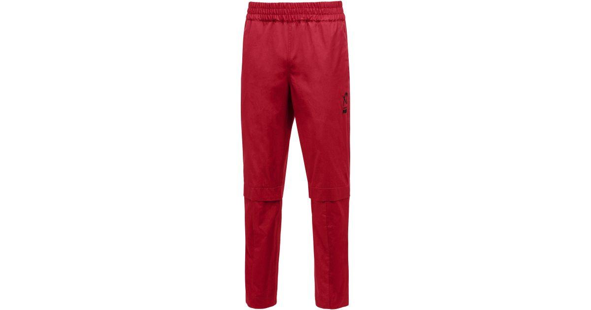 b786b76a3d47 Lyst - PUMA X Xo Men s Woven Pants in Red for Men