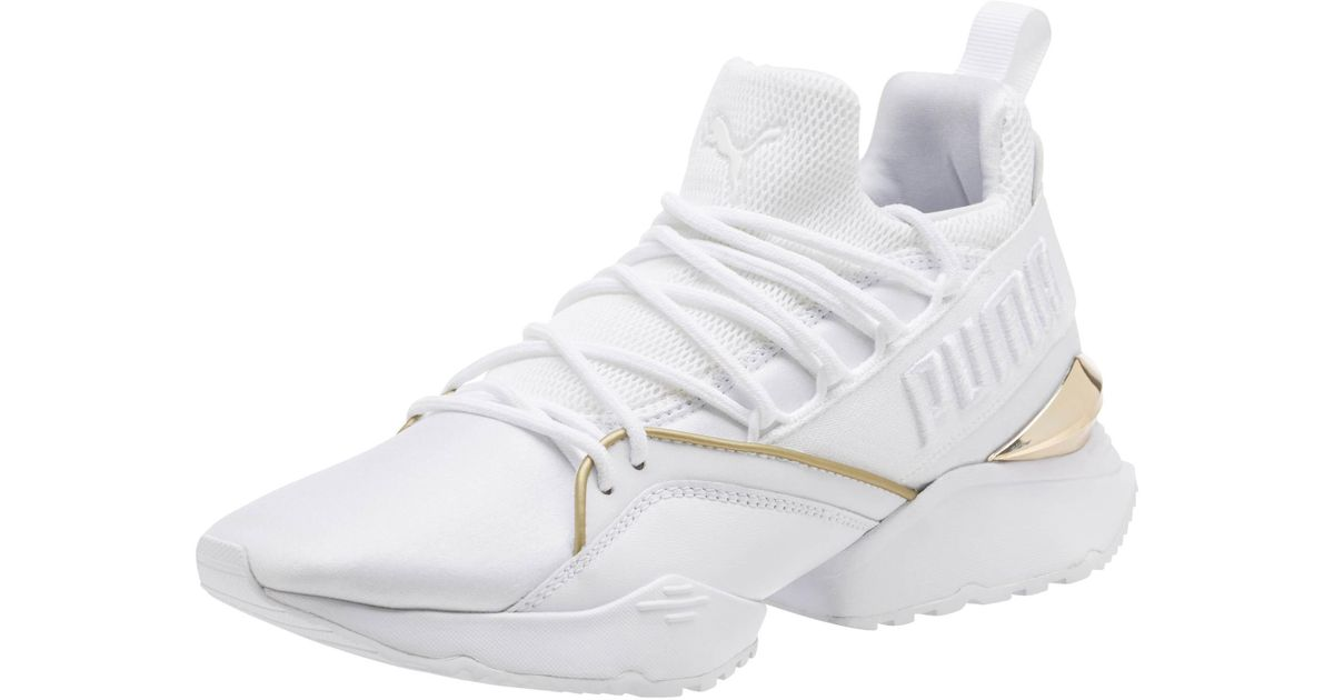 Lyst - PUMA Muse Maia Varsity Women s Sneakers for Men 2577c0aac9