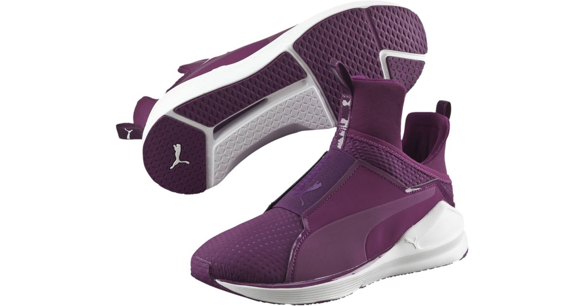 23a8357e030bb4 Lyst - PUMA Fierce Quilted Women s Training Shoes in Purple