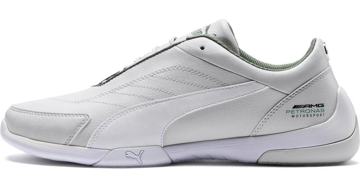 59dea1f3e55b Lyst - PUMA Mercedes Amg Petronas Kart Cat Iii Sneakers in White for Men