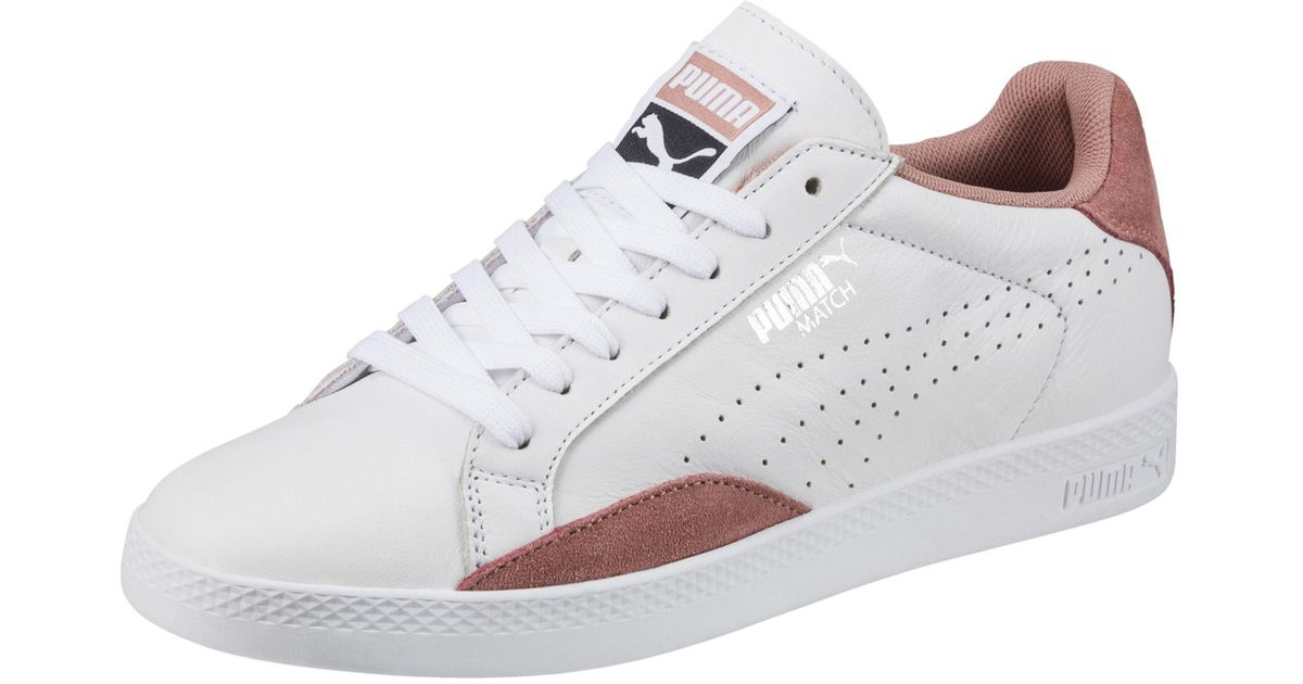 abffd9357128 Lyst - PUMA Match Lo Classic Women s Sneakers in White