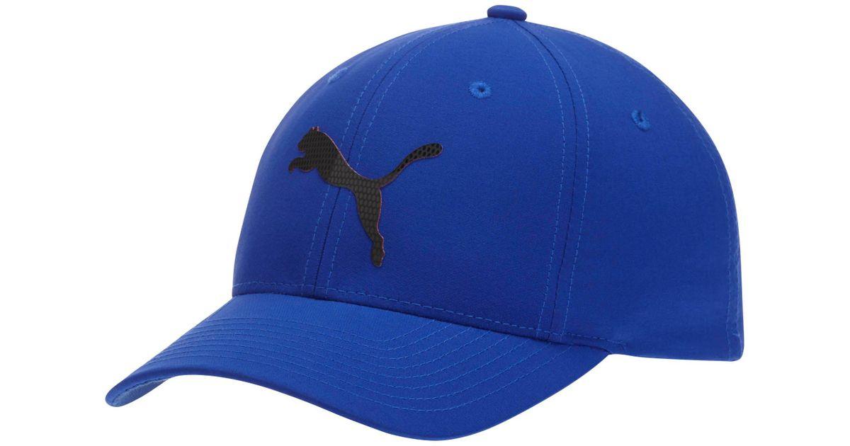 c7a907eae3fce Lyst - PUMA Lightweight Performance Body Flexfit Hat in Blue for Men