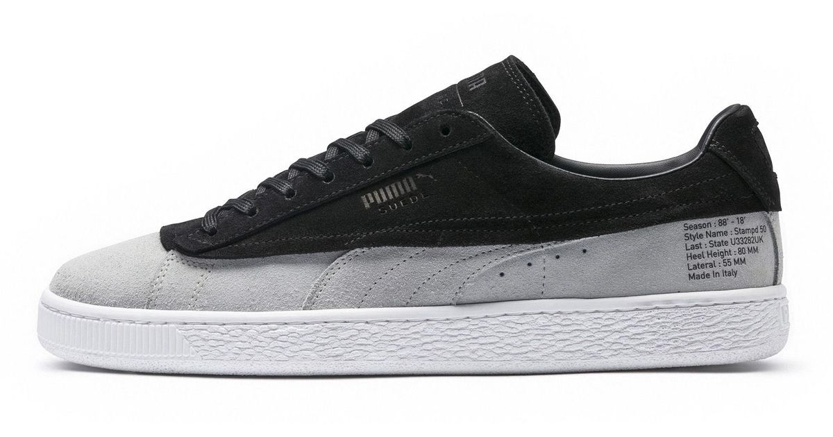 67149b240ba0 Lyst - PUMA X Stampd Suede Classic Sneakers in Black for Men